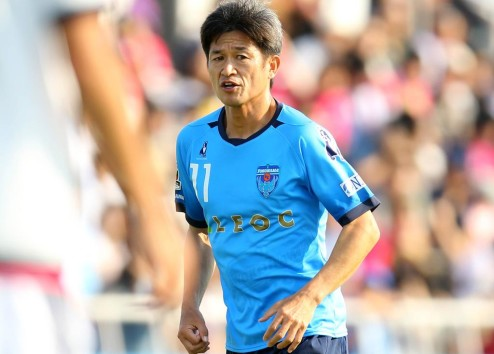 Kazuyoshi Miura Yokohama FC MAY 22 2016 Football Soccer 2016 J2 League match between Yokoh