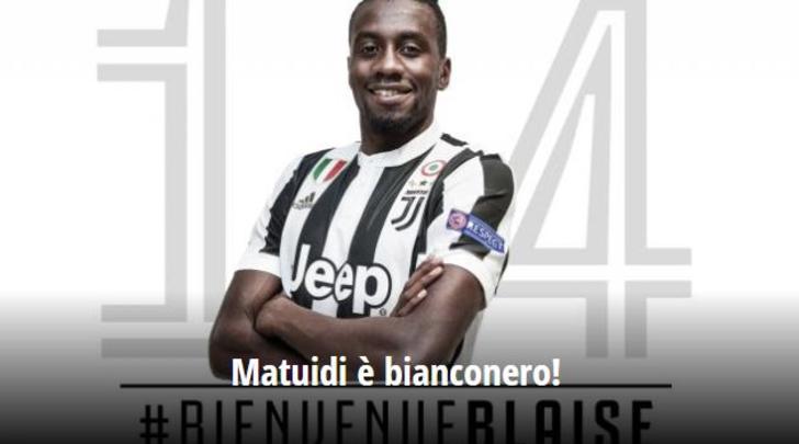 RASMI: Blaise Matuidi oo ku biiray kooxda Juventus + Sawirro & Muuqaal