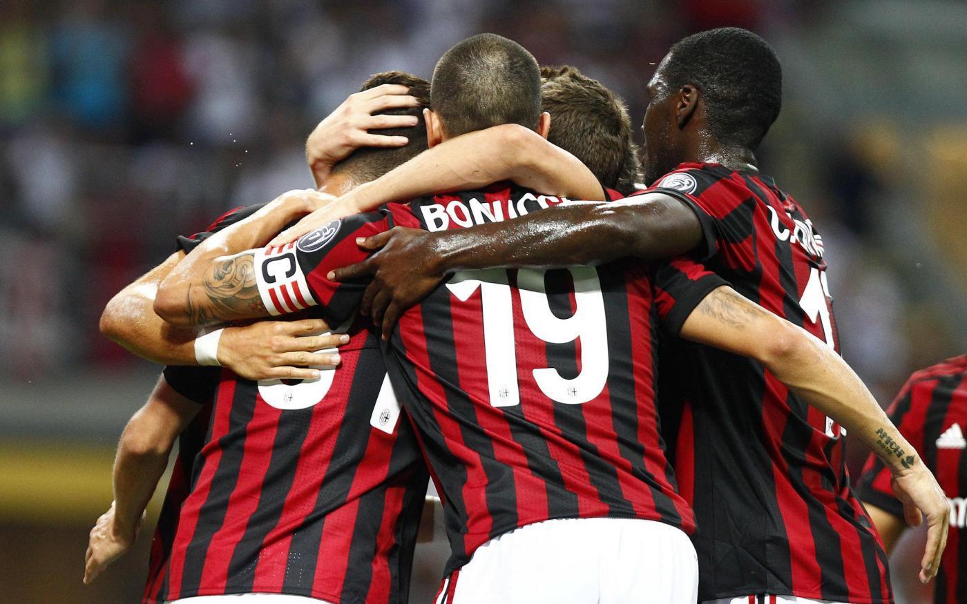 EL: ACM VS SHK 6-0….AC Milan oo ku heestey kooxda Shkendija + Sawirro