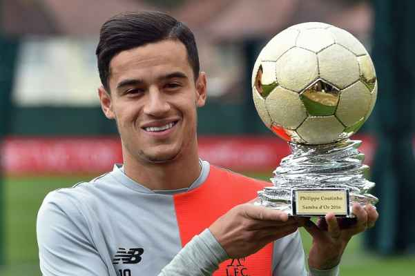 Philippe-Coutinho-Wins-Samba-dOr-Trophy