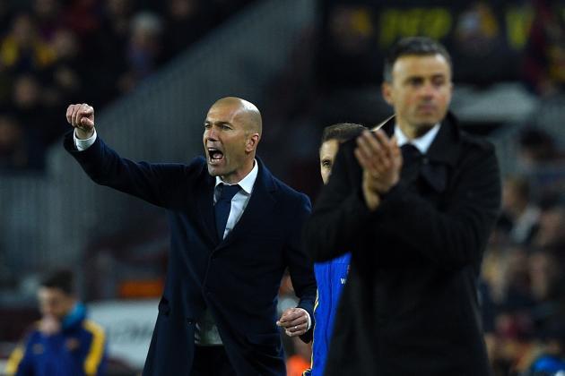 Image result for zidane vs barcelona