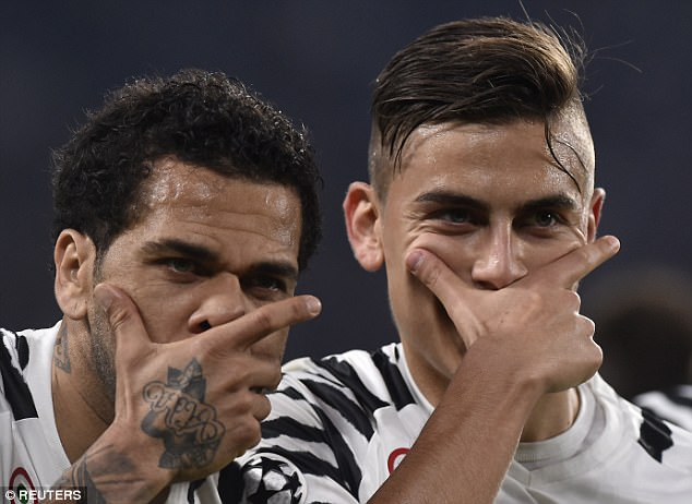 Image Result For Dybala And Alves