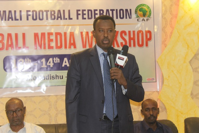 SFF president Abdiqani Said Arab