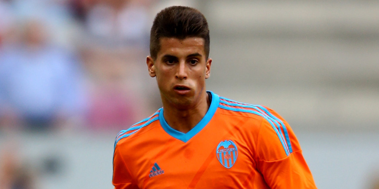 COLOGNE, GERMANY - AUGUST 01:  Joao Cancelo of Valencia runs with the ball during the Colonia Cup 2015 match between FC Valencia and FC Porto at RheinEnergieStadion on August 1, 2015 in Cologne, Germany.  (Photo by Christof Koepsel/Getty Images)