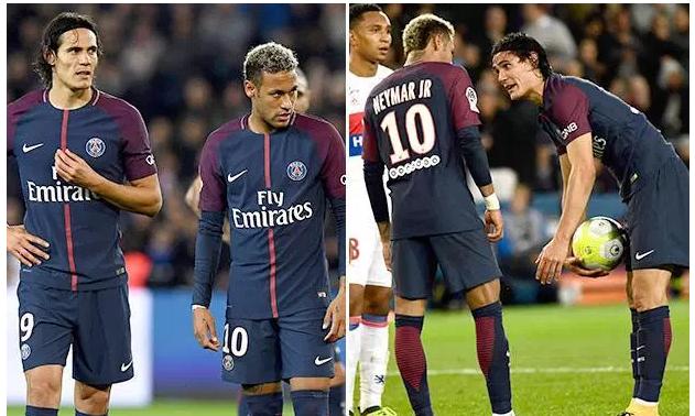 Neymar oo raali galiyay ciyaartoyda PSG kadib dhacdadii isaga iyo Cavani