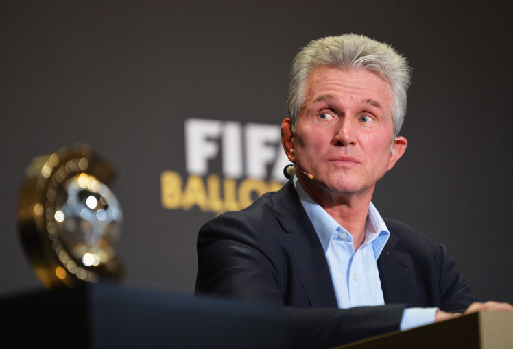 ZURICH, SWITZERLAND - JANUARY 13:  FIFA World Coach of the Year for Men's Football nominee and former manager of Bayern Munich Jupp Heynckes of Germany attends a press conference prior to the FIFA Ballon d'Or Gala 2013 at the Kongresshaus on January 13, 2014 in Zurich, Switzerland.  (Photo by Stuart Franklin - FIFA/FIFA via Getty Images)