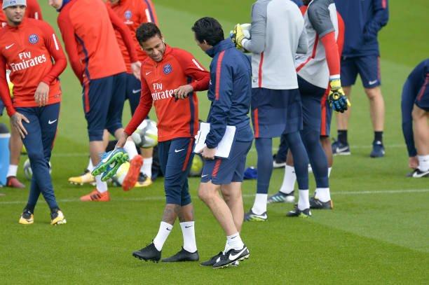 """""""Neymar waa diyaar"""" – Unai Emery oo sheegay in laacibka reer Brazil uu taam u yahay kulanka Rennes"""
