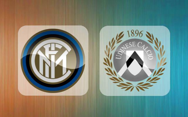 Googooska Inter Milan Vs Udinese 1 3 Inter Milan Oo Markii Ugu Horreeysey La Muquuniyay Gool Fm