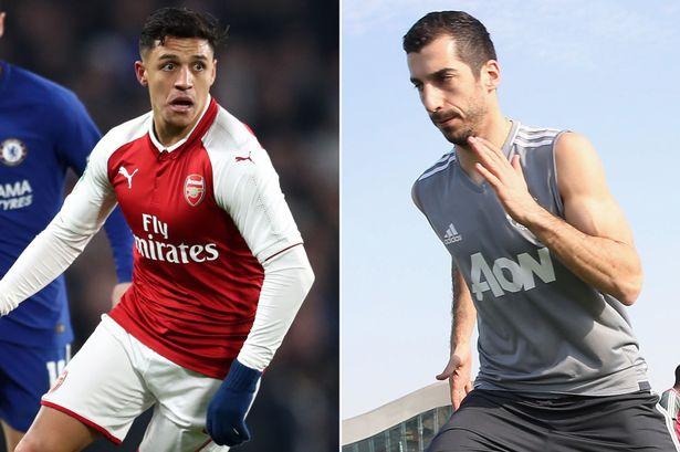 WAR CUSUB: Ciyaartoyda Arsenal oo doonaya in Alexis Sanchez uu ku biiro Man United ka hor kulanka Sabtiga ee Crystal Palace