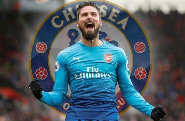 superior quality 941b2 cc404 Arsenal iyo Chelsea oo hormar ka sameeyay saxiixa Olivier ...