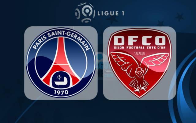 TOOS u daawo: Paris Saint Germain vs Dijon – LIVE (Shaxda sugan)