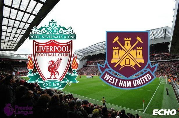 TOOS u daawo: Liverpool vs West Ham – LIVE (Shaxda sugan)