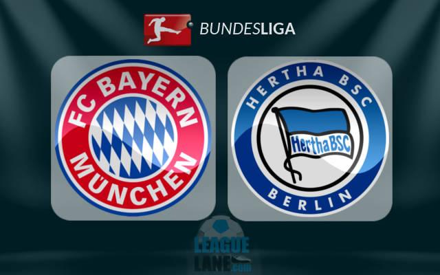 TOOS u daawo  Bayern Munich vs Hertha Berlin – LIVE (Shaxda sugan ... b25bdf127