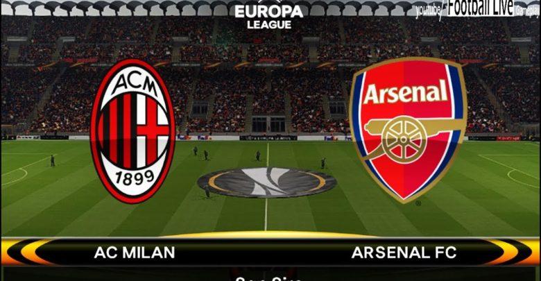 Image result for AC Milan vs Arsenal