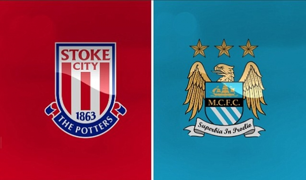 Image result for Stoke vs Manchester City