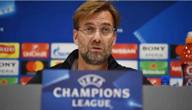 """Klopp: """"Waxa Halkan Soo Gaaray Waa Liverpool Iyo Roma Ee Ma Ahan Man City Iyo Barcelona""""."""