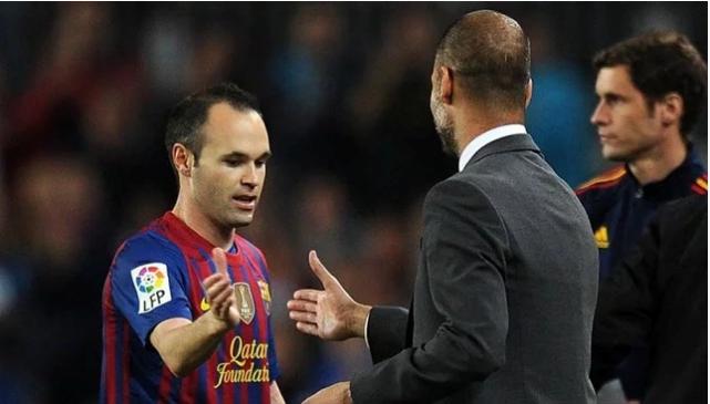 Pep Guardiola Oo Ku Adkeesanaya In Andres Iniesta Uu Keeno Kooxda Manchester City