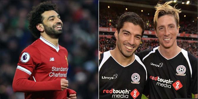 """Michael Owen: """"Mohamed Salah Ayaa Kaga Fiican Kooxda Liverpool Xidigaha Suarez Iyo Torres"""""""