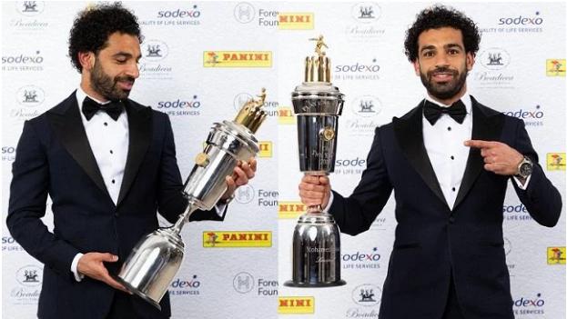 RASMI: Mohamed Salah Oo Ku Guuleystay Abaal Marinta Xidiga Sanadka Ugu Fiican Ee Premier League