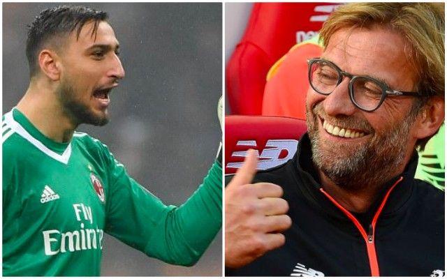 AC Milan oo hoos u dhigtay qiimaha Gianluigi Donnarumma iyo Liverpool oo kor ka eeganeysa xaaladiisa