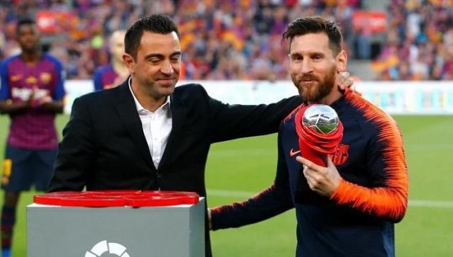 Xavi Hernandez Oo Gudoonsiiyay Lionel Messi Abaal Marinta Xidiga Bisha Ee Horyaalka La Liga Gool Fm