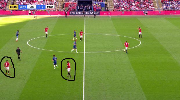 SAWIRRO: Daawo wixii kala qabsaday Pogba iyo Sanchez intii uu socday Final kii FA Cup ee laga qaaday Man United