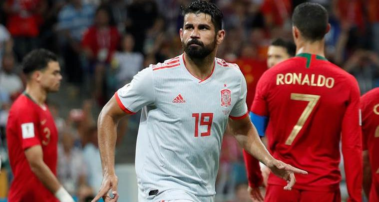 Diego Costa oo rajeenaya in xulalka Brazil iyo Spain ay wada ciyaari doonaan Finalka Koobka Aduunka 2018.