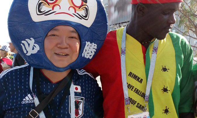 Shaxda rasmiga ah ee Japan vs Senegal