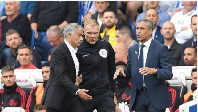 Jose Mourinho oo weerar culus la kulmay kadib guuldaradii kasoo gaartay kulankii Brighton