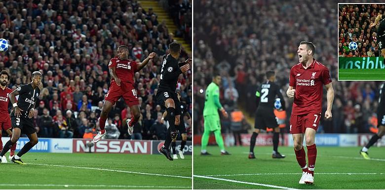 Liverpool oo guul muhiim ah kaga gaartay Anfield kooxda PSG kulankooda ugu horeeyay Group C ee tartanka Champions League.