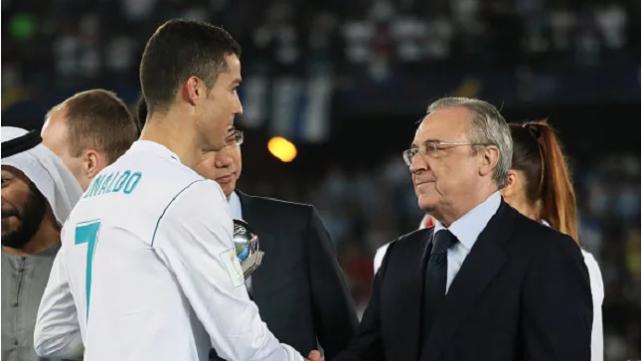 Florentino Perez oo sharaxaad ka bixiyay qaabka uu Ronaldo kaga dhaqaaqay garoonka Santiago Bernabe