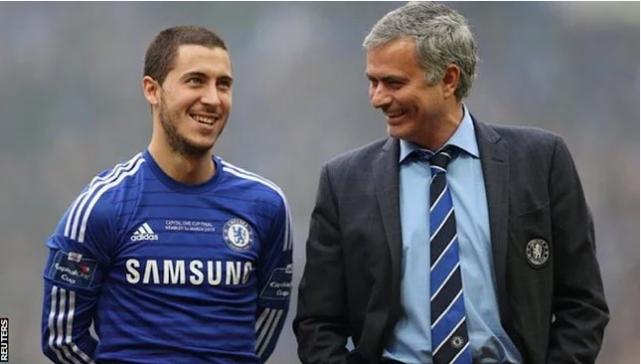 Mourinho oo si weyn u amaanay Hazard kahor kulanka ay maanta ku wada ciyaari doonaan horyaalka Premier League