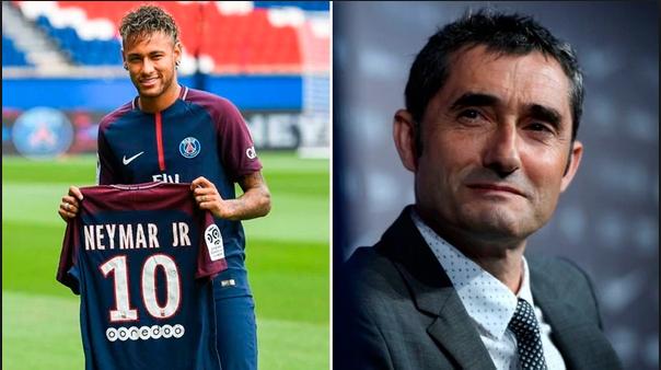 Ernesto Valverde oo ka hadlay wararka ku aadan in Neymar uu dib markale ugu soo laaban doono kooxda Barcelona