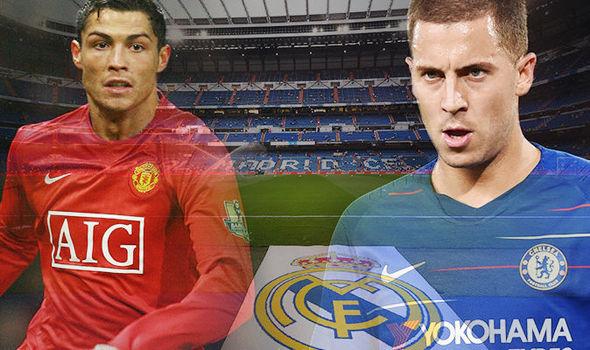 Hazard oo isticmaalaya TAAK-TIKADII Cristiano Ronaldo si uu ugu biiro Real Madrid!!!