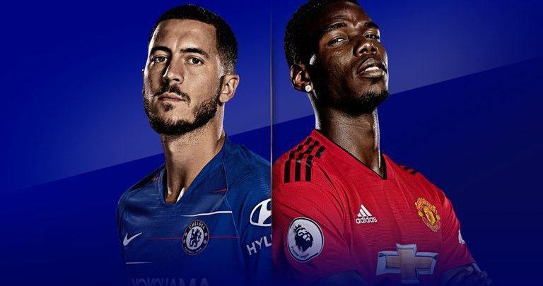 Shaxda rasmiga ah ee Chelsea vs Manchester United (Mourinho oo ku soo galay shax weerar ah)
