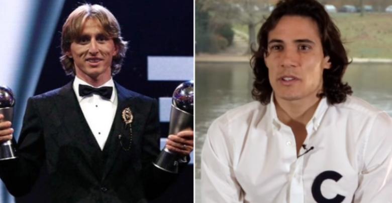 """""""Modric waxaa Ballon d'Or ka mudan…….."""".- Cavani oo ka biyo diiday in xiddiga reer Croatia la isugu daro FIFA the Best iyo Ballon d'Or"""