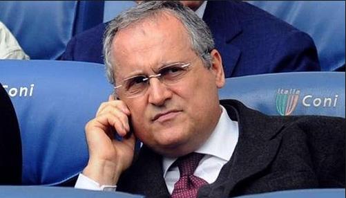 Madaxweynaha Lazio oo farxad galiyay kooxaha Barcelona, Real Madrid iyo Manchester United