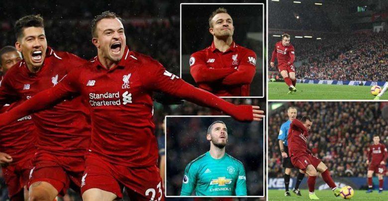 Liverpool oo dib ugu soo laabatay hogaanka isla markaana guushii ugu horreysay ka gaartay Man United tan iyo…..+SAWIRRO