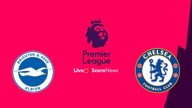Safafka rasmiga ah ee Brighton vs Chelsea (Morata oo maqan iyo Giroud oo keydka fadhiya)