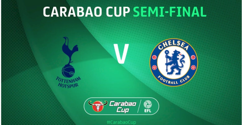 Image result for Tottenham vs Chelsea Carabao Cup