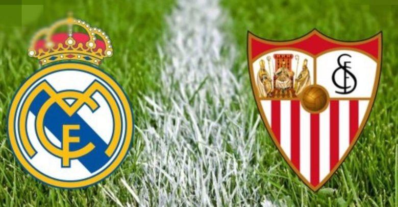 Shaxda rasmiga ah ee kooxaha Real Madrid vs Sevilla