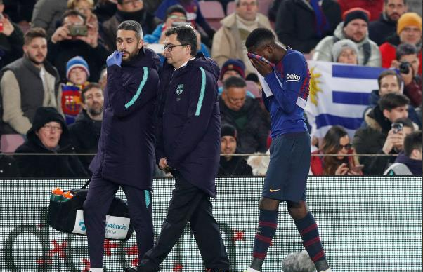 RASMI: Barcelona oo shaacisay mudada uu garoomada ka maqnaanayo Ousmane Dembélé