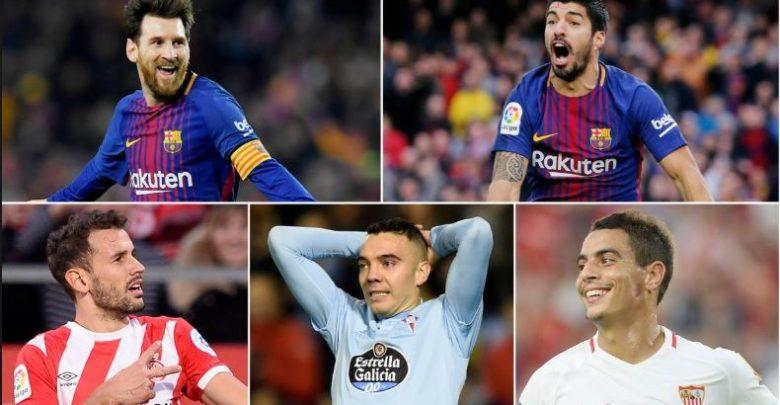 ARAG: Kala Sarreynta Gool dhalinta La Liga….(Weeraryahannada Saaxiibada ah oo Hogaanka isku heysta iyo Real Madrid oo xitaa….)