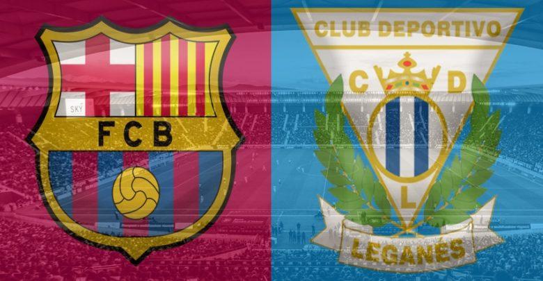 Shaxda rasmiga ah ee kooxaha Barcelona vs Leganes
