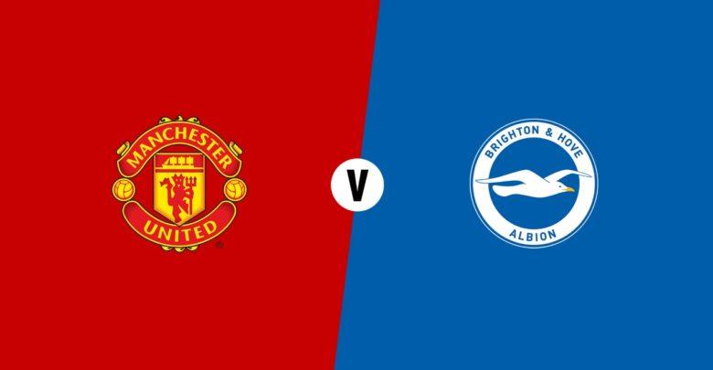 Shaxda rasmiga ah ee kooxaha Manchester United vs Brighton