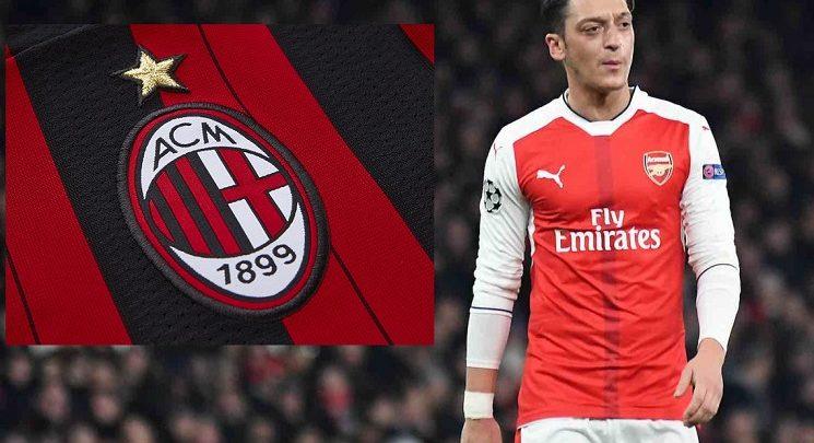 Ma Maqashay in Mesut Ozil uu Xiisad adag ka dhex abuuray kooxda AC Milan!!……(Sidee wax u jiraan???)