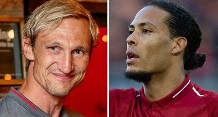 Halyeeyga kooxda Liverpool Sami Hyypiä oo si xoogan u amaanay Virgil van Dijk