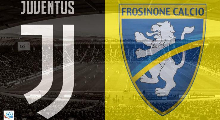 Shaxda rasmiga ah kulanka horyaalka Serie A ee kooxaha Juventus Vs Frosinone