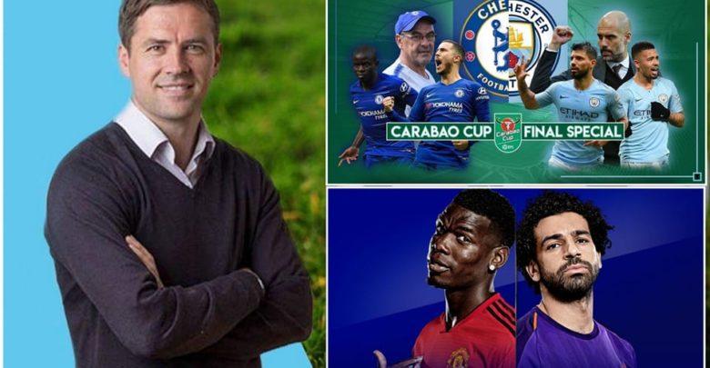 Owen oo saadaaliyay kulamada adag ee Berito, Man United vs Liverpool iyo waliba Final ka Carabao Cup ee Chelsea vs Man City