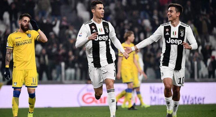 SAWIRRO: Ronaldo iyo Dybala oo Xalay kala TABAL CAAREYSTAY Dabaal Degyadooda Caanka ah